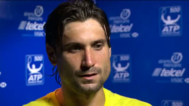 Acapulco 2014 Wednesday Interview Ferrer
