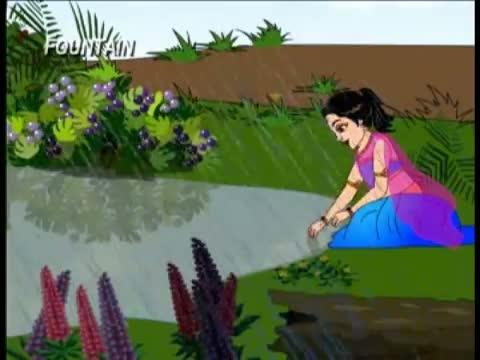 Marathi Balgeet - Nach Re Mora - Kids - Animation Poem (with Lyrics)