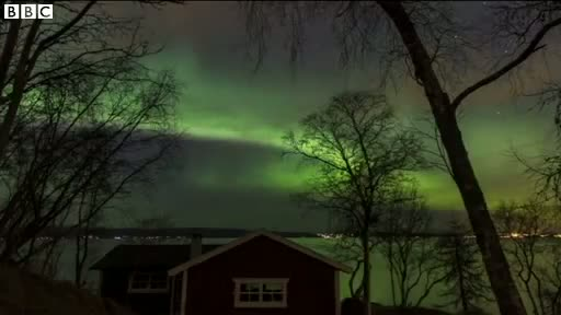 'Magical' Northern Lights displays