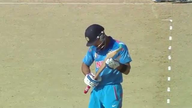 Shikhar Dhawan scores 94 runs, Highest against SL (Asia Cup 2014 - 4th ODI, Ind vs SL)