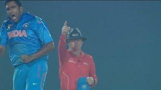 Ashwin completes 100th wicket as he gets 2 openers (Asia Cup 2014 - 4th ODI, Ind vs SL)
