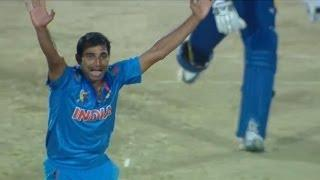Mohammed Shami removes 3 wickets (Asia Cup 2014 - 4th ODI, Ind vs SL)
