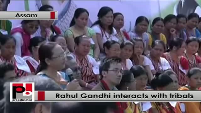 Rahul Gandhi: We want more tribal representation in parliament and assemblies