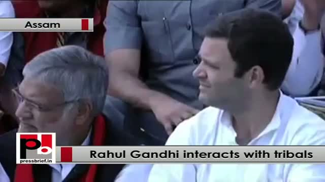Rahul Gandhi: Empowerment of women, tribal and poor is our top priority