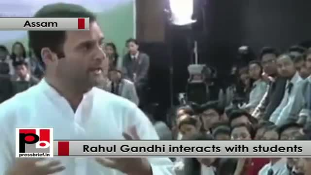 Rahul Gandhi: Make education available to every body