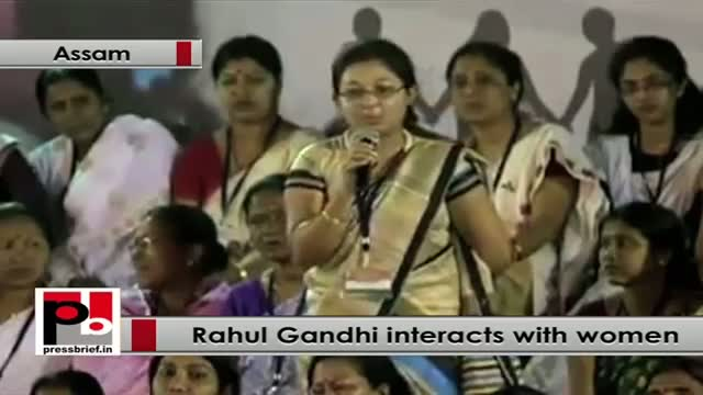 Rahul Gandhi: If you give woman financial support that will be a very powerful thing