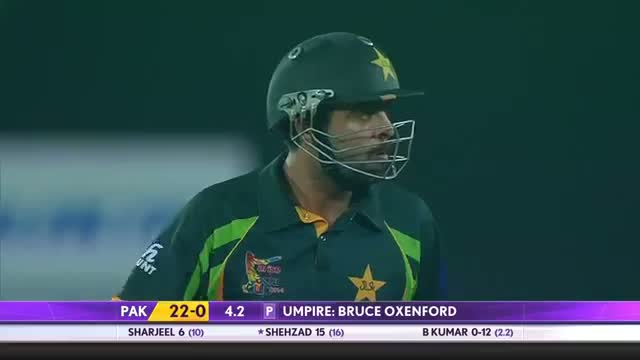 Ahmed Shehzad made highest score against India (Asia Cup 2014 - 6th ODI, Ind vs Pak)