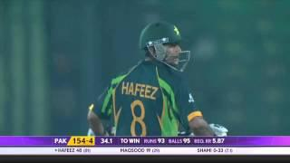 Mohammad Hafeez scores 2nd half century against India (Asia Cup 2014 - 6th ODI, Ind vs Pak)