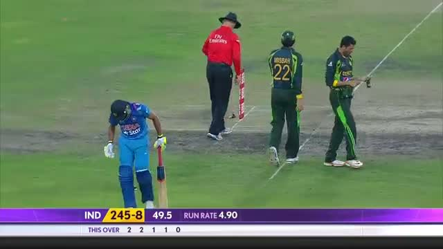 India vs Pakistan: 6th ODI, Highlights Reel (Asia Cup 2014)