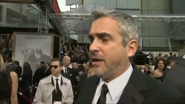 Oscars 2014: Gravity director Alfonso Cuaron says he's getting drunk to celebrate Best Director