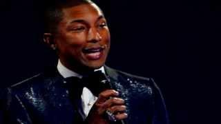 Pharrell Happy Live Performance HD Despicable Me 2 Soundtrack Oscars 2014 Oscar Awards Video