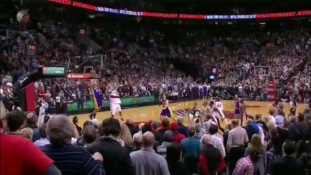 NBA: Wesley Johnson's Game-Winning Alley-Layup