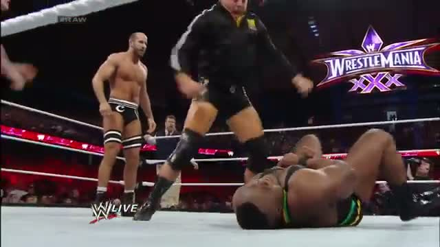 Big E vs. Cesaro: WWE Raw, March 3, 2014
