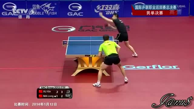 Grand Finals 2013 (Ms-Final) MA Long - XU Xin [HD] [Full Match Short Form/Slow Motions] Video