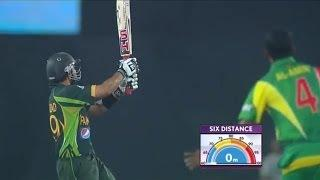 Ahmed Shehzad scores 5th ODI hundred, 1st vs Bangladesh (Asia Cup 2014 - 8th ODI Ban vs Pak)