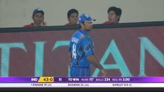 Ajinkya Rahane scores 5th ODI half century (Asia Cup 2014 - 9th ODI, Ind vs Afg)