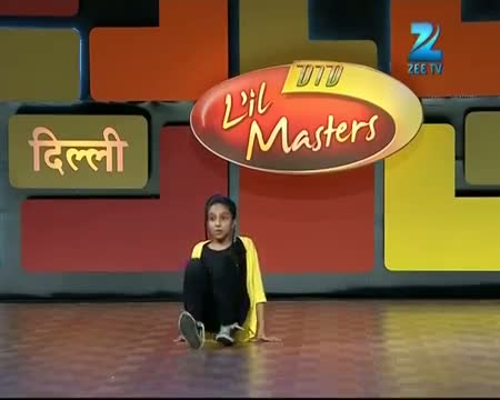 DID L'il Masters Season 3 - Delhi Auditions - Awesome performance by Rajvi - 1 March 2014