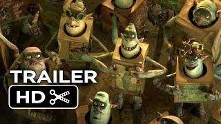 The Boxtrolls Official Teaser Trailer 3 (2014) Feat. Ben Kingsley, Elle Fanning Movie HD