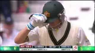 Michael Clarke struggles to get his 27th Test century (South Africa vs Australia - 3rd Test)