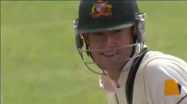 Michael Clarke celebrating his 27th Test hundred (South Africa vs Australia - 3rd Test)