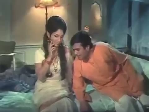 Yeh Raat Hai Pyasi Pyasi - Best Romantic Hindi Song - Rajesh Khanna & Sharmila Tagore - 'Chhoti Bahu' (1971)