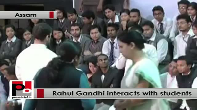 Rahul Gandhi: I see each one of you has lot of potential