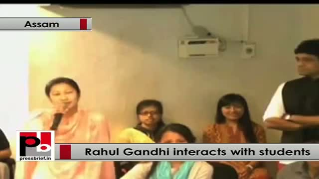 Rahul Gandhi: Students are the bright future of India