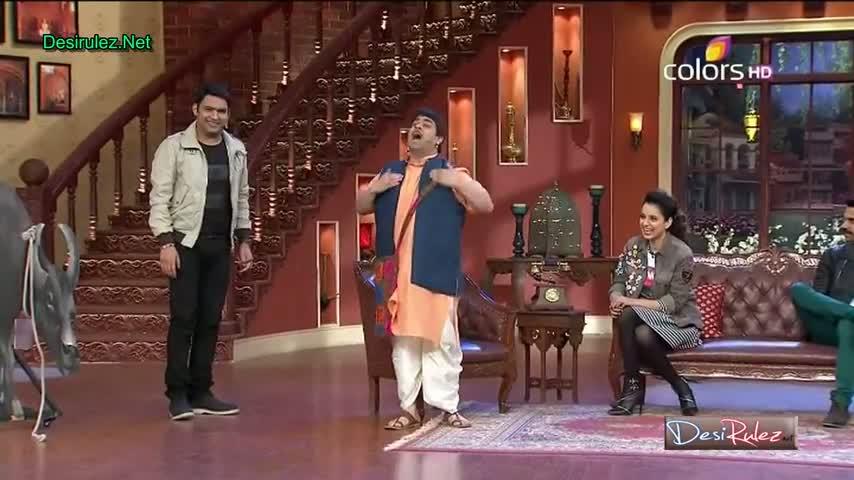 Comedy Nights with Kapil - Kangana Ranaut & Raj Kumar Yadav - 9th March 2014 - Part 5/5