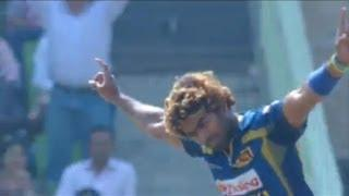 Lasith Malinga grabs 3rd and most Five wicket haul in Asia cup (Asia Cup 2014 - Final, Pak vs SL)