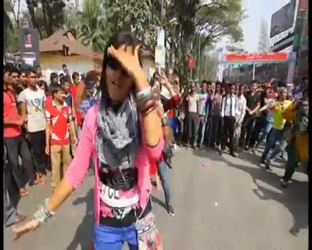 ICC World Twenty20 Bangladesh 2014 Flash Mob - Agricultural University Sylhet