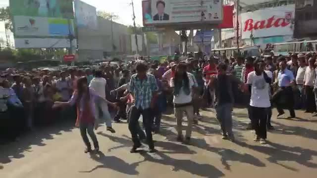 World Twenty20 Bangladesh 2014 - Flash Mob, Chittagong University of Engineering & Technology