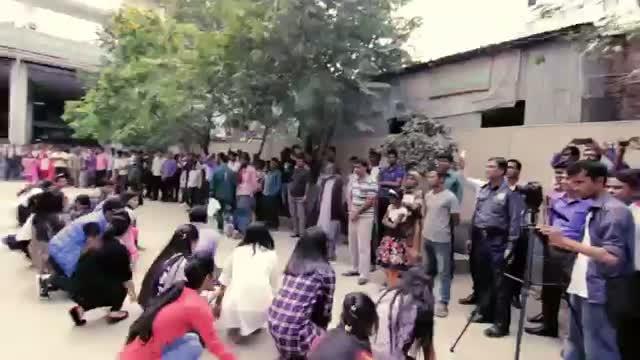 ICC WORLD TWENTY 20 Bangladesh 2014 - Flash Mob Enam Medical College