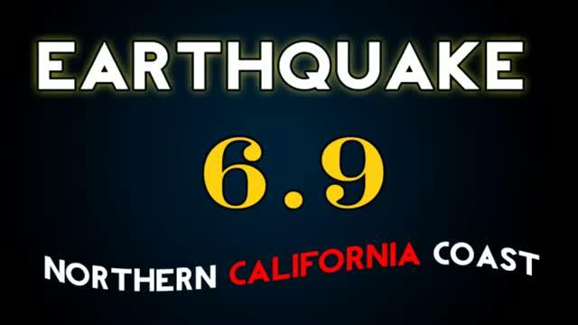 Powerful 6.9 earthquake strikes off California coast
