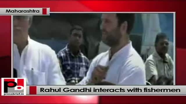 Rahul Gandhi to fishermen : Your voices must be heard in parliament