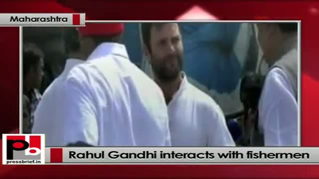 Rahul Gandhi tells fishermen: Your betterment is our priority