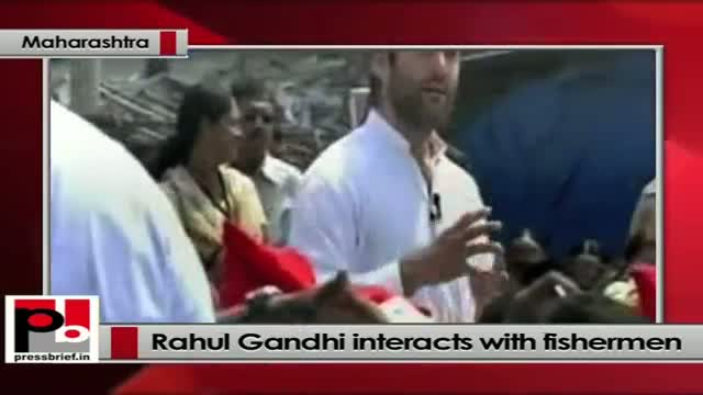 Rahul Gandhi tells fishermen: I came here to listen to your problems