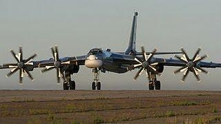 WORLDS FASTEST propellar driven AIRCRAFT Russian Tu 95MC Nuclear Bomber
