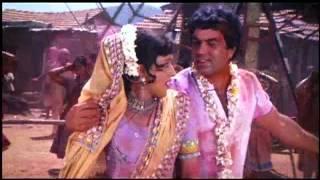Holi Ke Din Dil Khil Jaate Hai | Sholay 1975 | Kishore Kumar & Lata