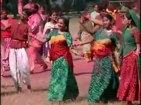 Saat Rang Mein [Full Song] Holi Khele Raghuveera - Holi Special SOng