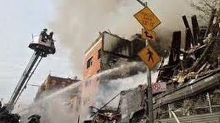 HARLEM Explosion Rocks New York City - Buildings Collapse - Harlem explosion NYC