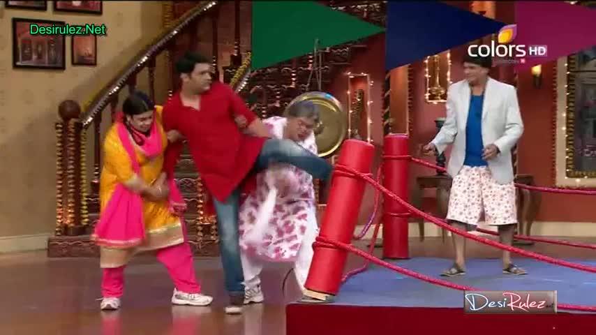Comedy Nights with Kapil - Ayushmann Khurrana, Sonam Kapoor and raju shrivastav - Holi Sepcial - 16th March 2014 - Part 3/5
