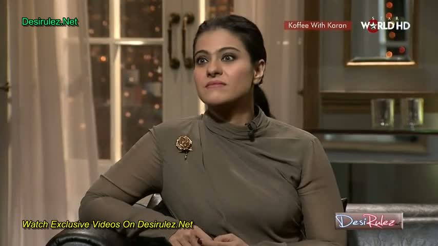 Koffee With Karan (Season 4) - Kajol & Ayan Mukerji on Koffee With Karan - Part 4/5 HD - 16th March 2014