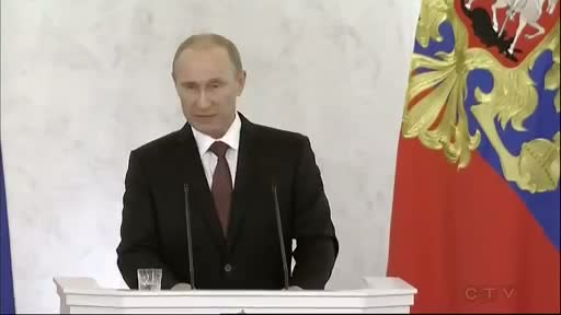 WATCH: Russia President Putin's Speech Declaring Crimea is Part of Russia