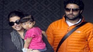 Aishwarya Rai Bachchan & Abhishek SPOTTED with Aaradhya Bachchan