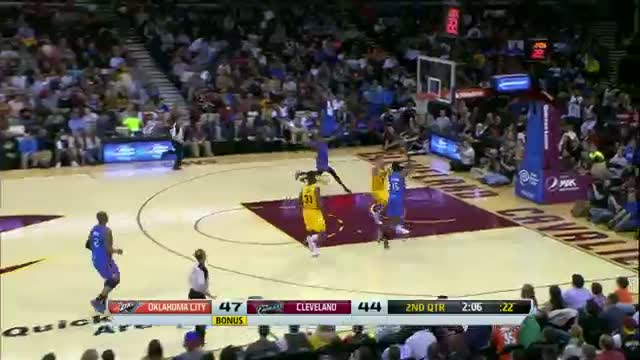 NBA: Kevin Durant Rocks in Cleveland!