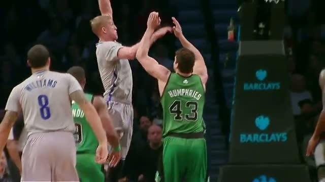 NBA: Mason Plumlee Throws it Down on Kris Humphries - Basket Ball - Sports Video