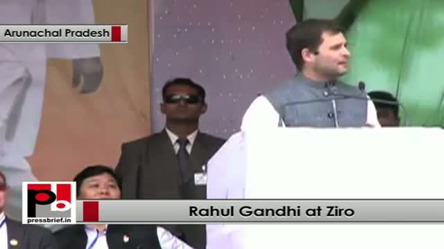 Rahul Gandhi at Ziro : I am delighted to be here