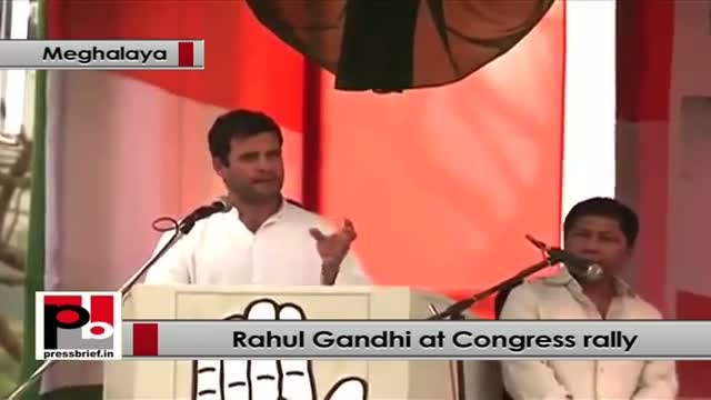 Rahul Gandhi: Congress believes every citizen should have equal space in the country