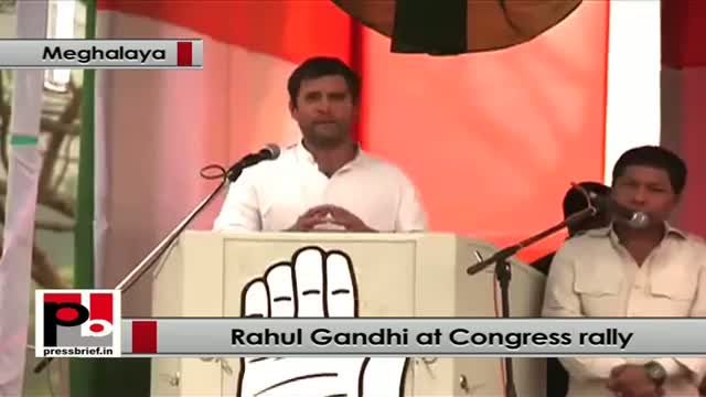 Rahul Gandhi : Whole India can learn how to respect women from Meghalaya