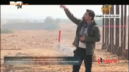 MTV Roadies X1 - 22nd March 2014 - Jaisalmer Journey - Episode 3 - Part 1/3